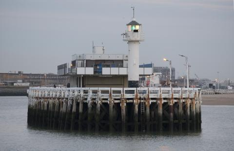 Oostende pier